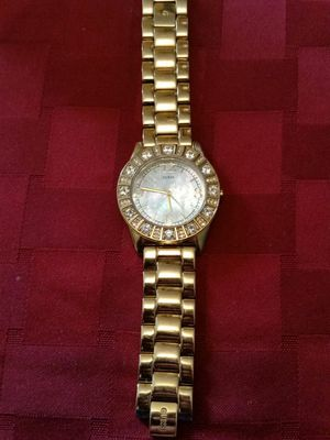 1cc8ebd477 Water resistant stainless steel back Guess Watch for Sale in Norcross