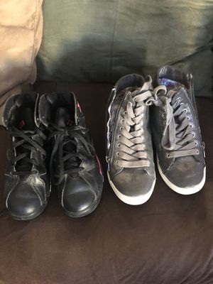 Young girl shoes size Jordan's size 2 for Sale in Laveen Village, AZ