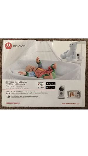 New Motorola MBP667 Connect Digital Video Color Baby Monitor- Wifi Internet Viewing for Sale in Union City, CA
