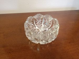 """Antique Brilliant Cut Glass Nut/Serving Bowl!! 2"""" H x 4"""" W!! for Sale in Colorado Springs, CO"""
