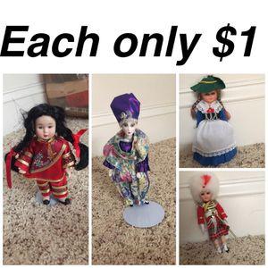 Dolls each $1 for Sale in Fairfax, VA