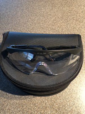 Wiley X Clear interchangeable tactical glasses for Sale in Gainesville, VA