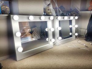 Desktop Hollywood Makeup Vanity mirror for Sale in Riverside, CA