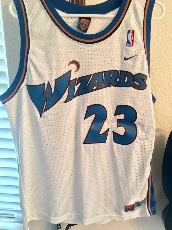 huge discount 5b81f 41e3a Michael Jordan Washington Wizards Jersey #23 size Large. for Sale in  Chandler, AZ - OfferUp