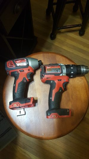 Milwaukee impact and hammer drill used. No battery or charger included works great for Sale in Mount Rainier, MD