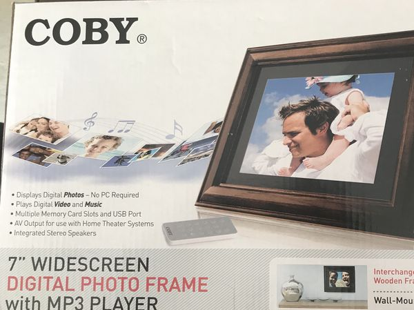 Coby 7 Digital Frame With Mp3 Player For Sale In Hillsborough Nj