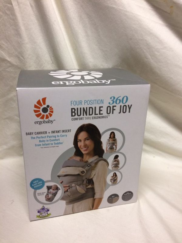 Ergo Baby 360 Carrier W Infant Insert For Sale In San Diego Ca