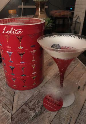 Lolita Santa's New Hat Martini Glass for Sale in Columbus, OH