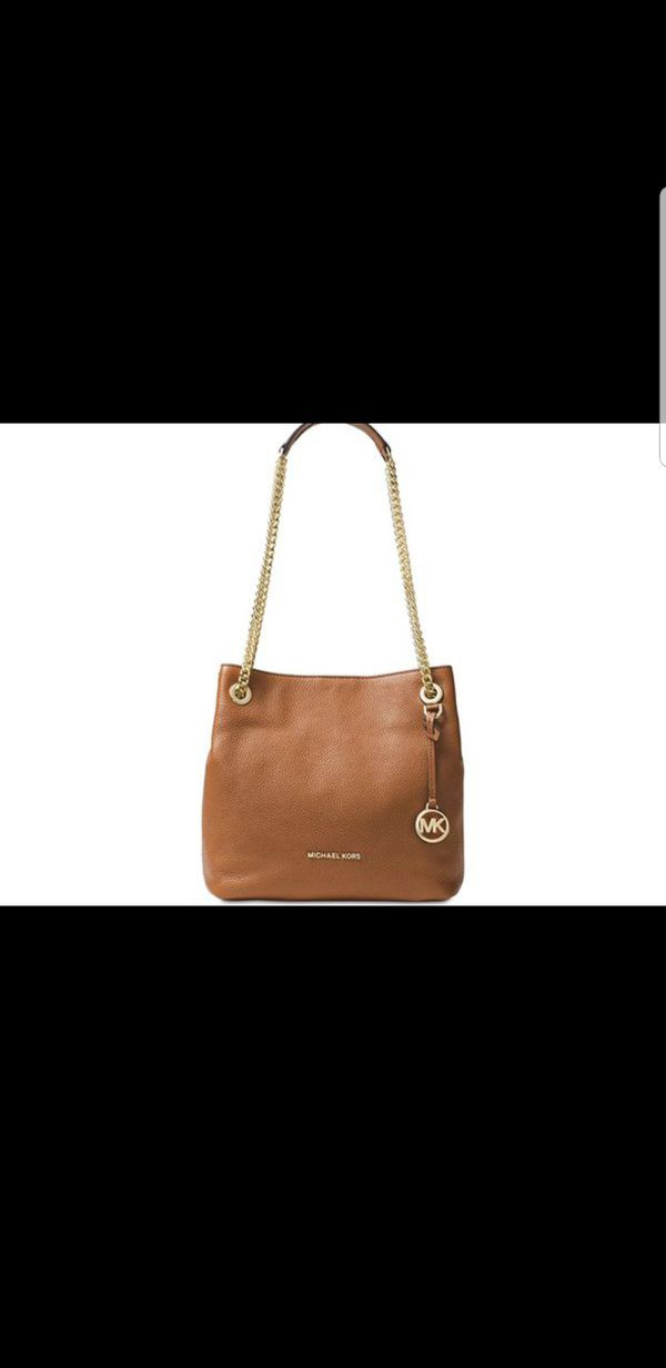 e4c9459bafe3 NWT Michael Kors MK Jet Set Chain Medium Shoulder Tote BAG PURSE BAG  Messenger Acorn Camel $298 for Sale in Garden Grove, CA - OfferUp