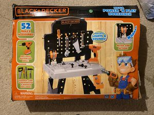 Photo Black and decker kids workbench BRAND NEW