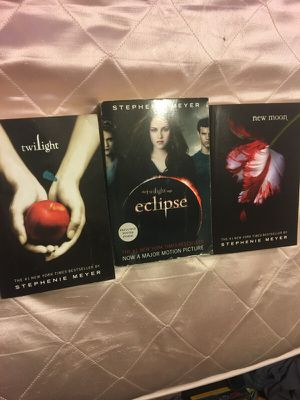 Twilight 3 pack of books for Sale in Scottsdale, AZ