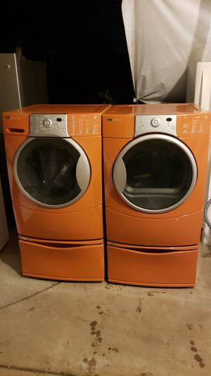 Photo Kenmore Elite HE4t washer and gas dryer