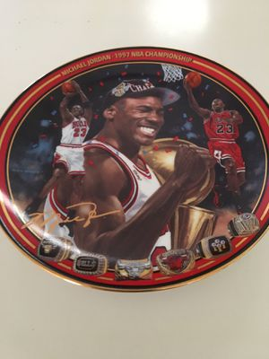 Michael Jordan collector plate 1997 above all a champion for Sale in Scottsdale, AZ
