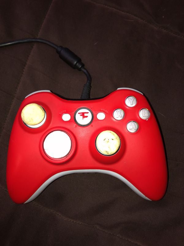 Xbox 360 Limited Edition FaZe Scuf Hybrid Controller for ...