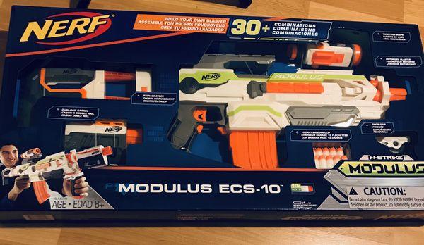 Nerf N-Strike Modulus ECS-10 Blaster Gun for Sale in San Jose, CA - OfferUp