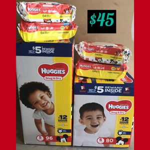 Huggies Size 5 & 6 for Sale in Silver Spring, MD