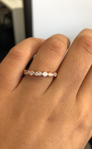 Simple 14k Rose Gold Wedding Band For Sale In Los Angeles Ca Offerup