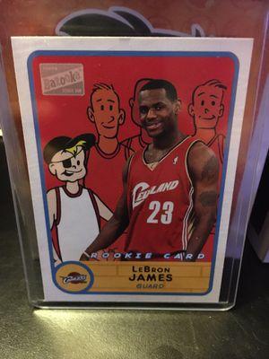 Photo Lebron James rookie card