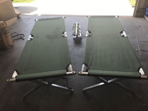 Military style cots. for Sale in Martinsburg, WV