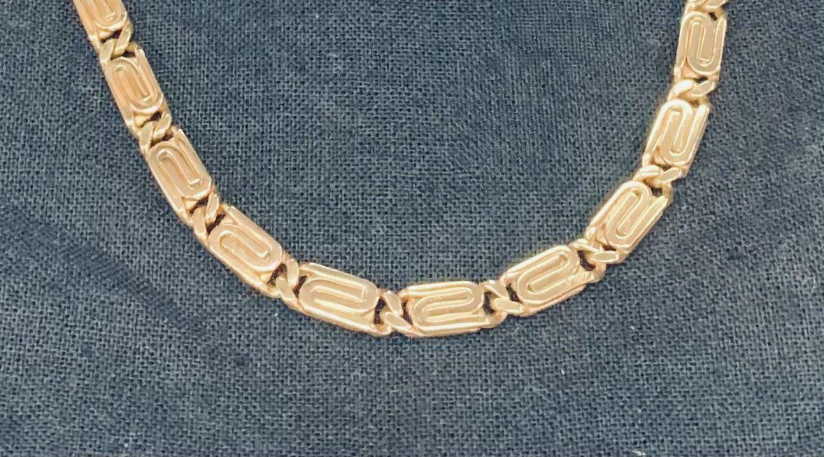 18kYellow Gold Snail link