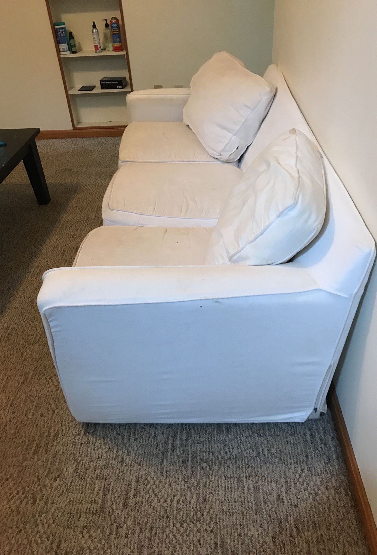 White couch for sale