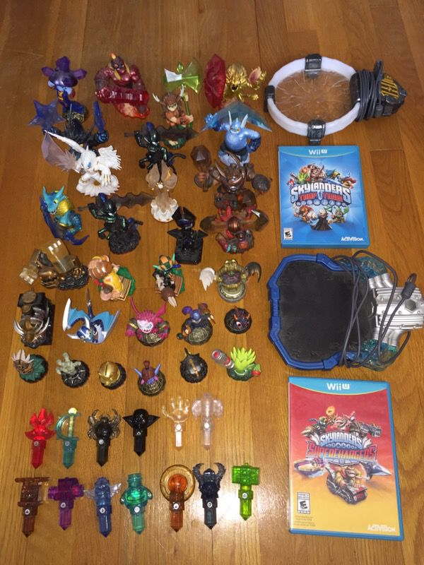 Skylanders Trap Team and Superchargers