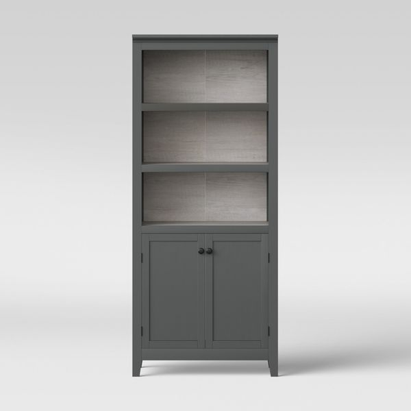 72 Carson 5 Shelf Bookcase With Doors Threshold For Sale In Arcadia Ca Offerup