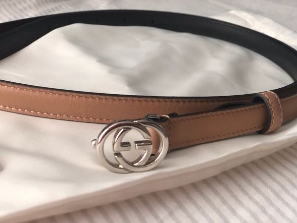 """6ffb8432318 Unisex Gucci belt authentic size 110CM  44"""" with receipt for Sale in ..."""