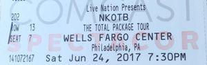 TOMORROW NKOTB BOYS II MEN for Sale in Philadelphia, PA