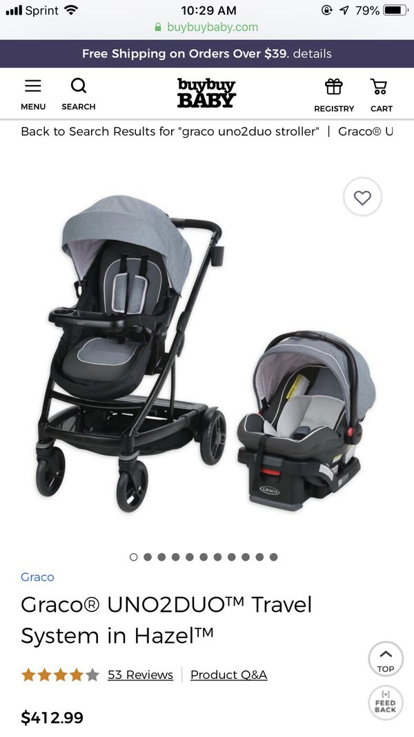 Graco Uno2duo Double Stroller System For Sale In Seymour Ct Offerup