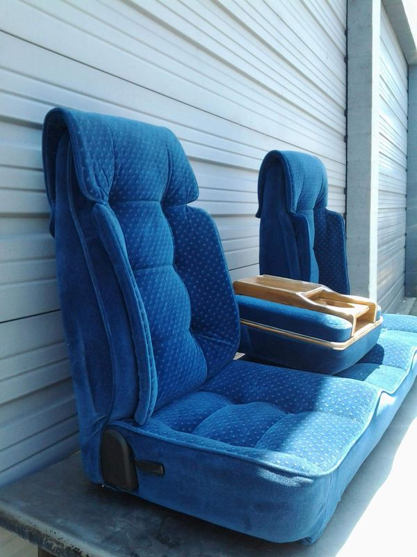 Blue Cloth Universal Truck Bench Seat For Sale In South Gate Ca