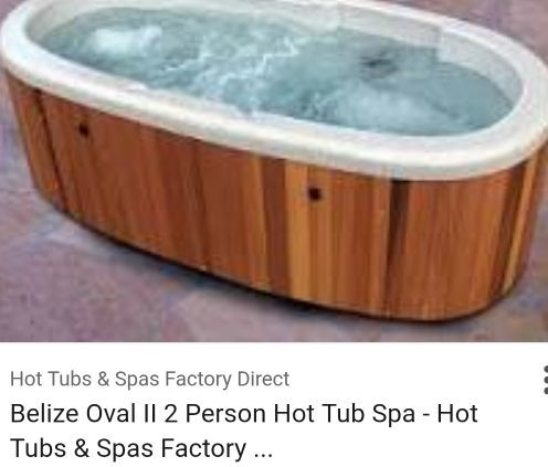 Belize Oval 2 Person Spa Hot Tub Jacuzzi For In Fort Lauderdale Fl Offerup