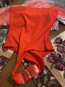 Red bodysuit Thumbnail