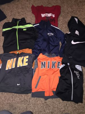 Kids Nike's 12M-2T jackets sweaters hoodies for boy or girl for Sale in Manassas, VA