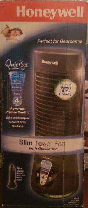 Honeywell slim tower fan for Sale in San Antonio, TX