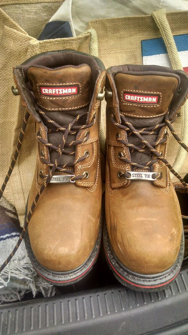 f9faf26b6e539 Craftsman Steel toe work boots for Sale in Tacoma, WA - OfferUp