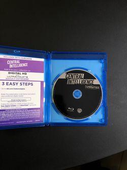 Central Intelligence Movie (Blu-Ray) Thumbnail