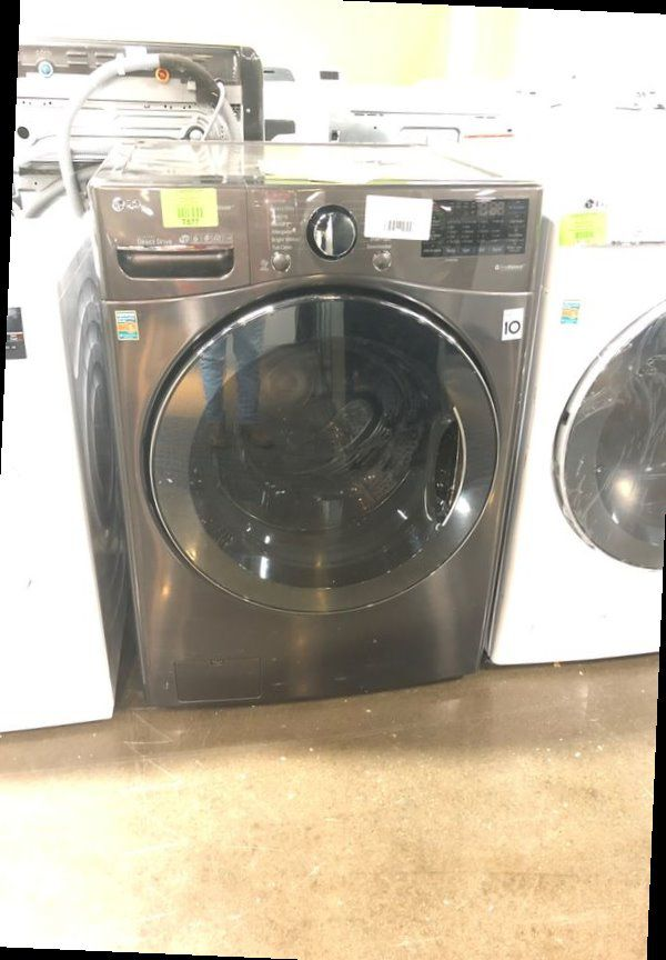 Brand New LG 4.5 Cu Ft Front Load Washer in Grey 7DQJ