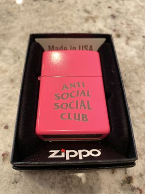 Photo Anti social social club zippo no regrets lighter. Brand new never used. Excellent condition ASSC accessories. Men's items