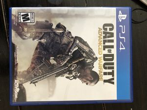 PS4 Call of Duty Advanced Warfare for Sale in San Francisco, CA