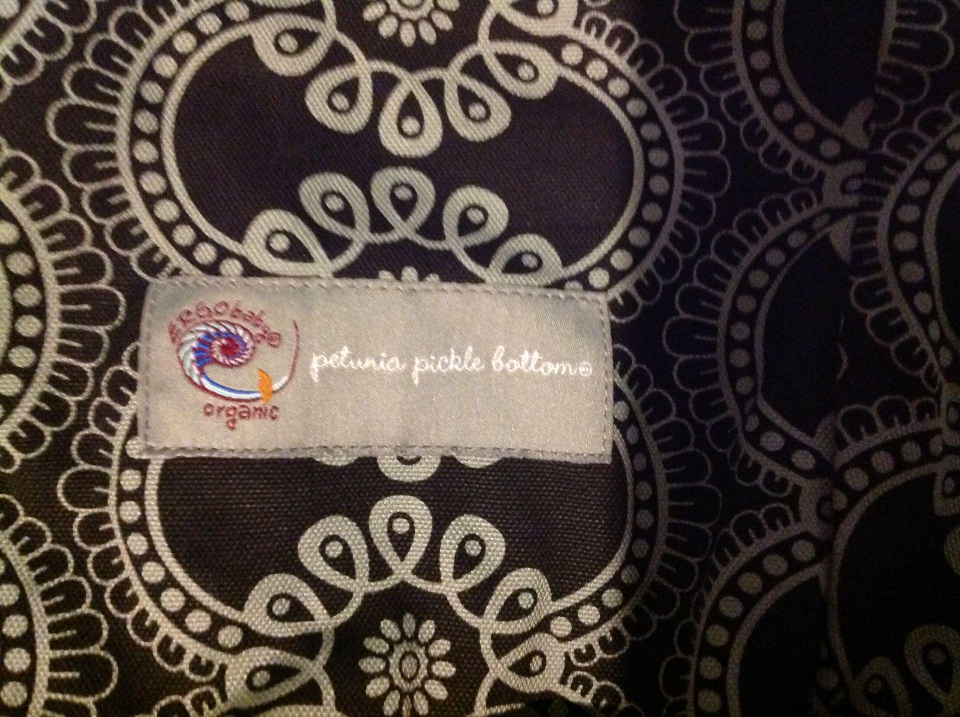 Petunia Pickle Bottom carrier, no insert