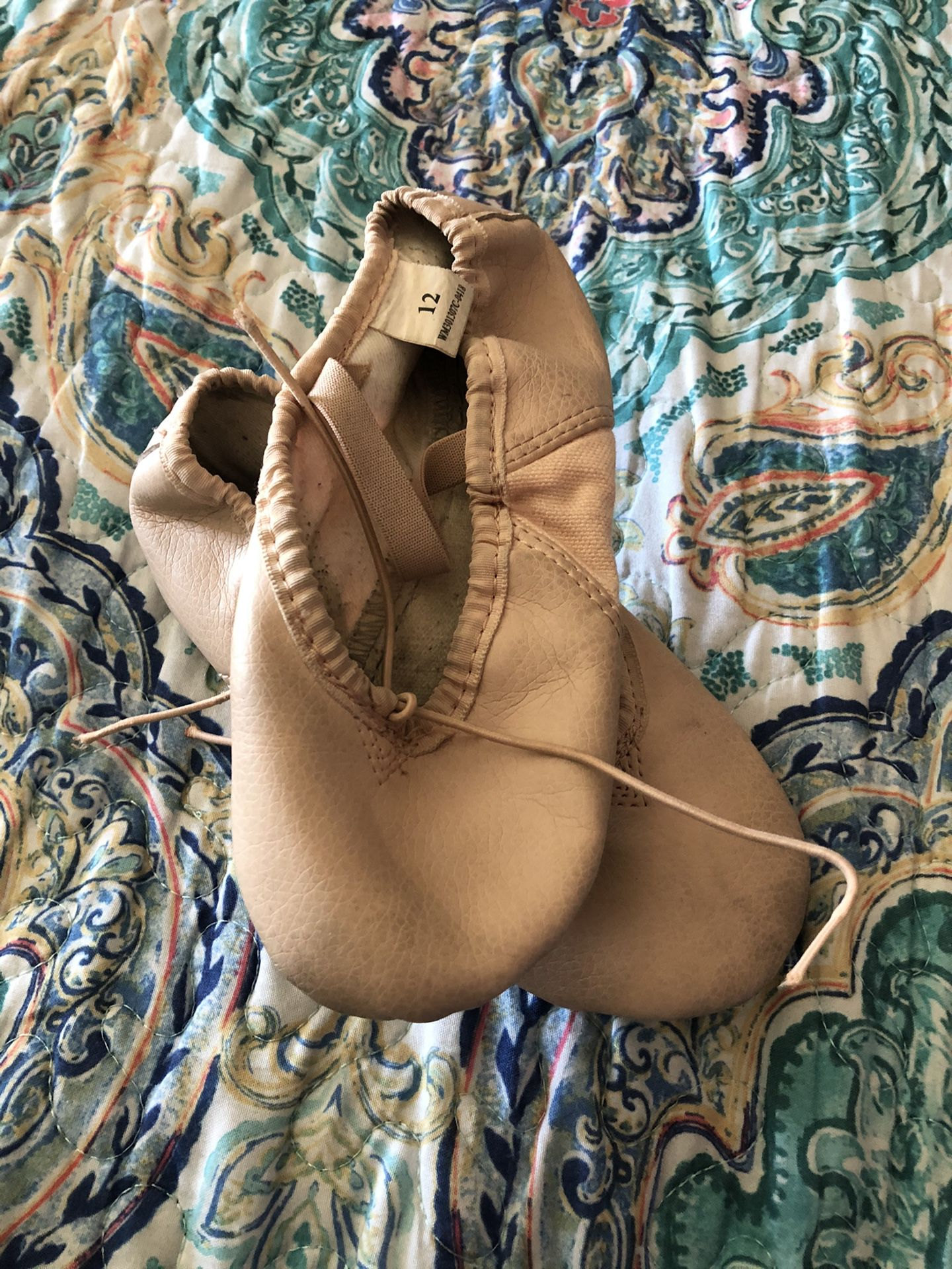 ABT American Ballet theater Brand Ballet Slippers Size 12