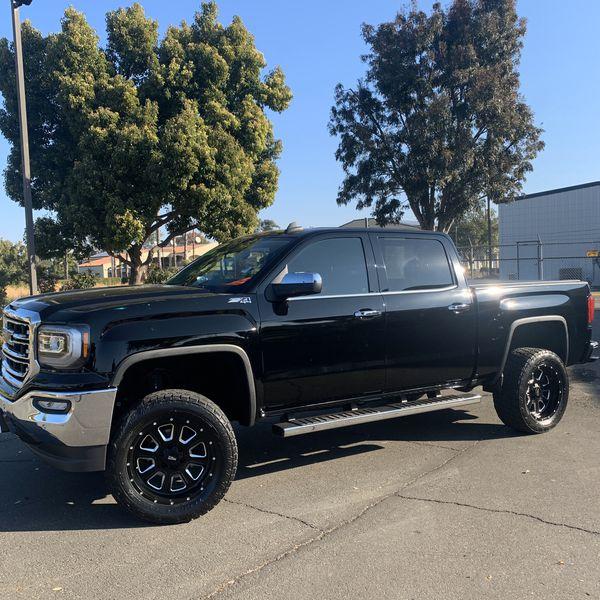 2016 GMC SIERRA SLT LIFTED For Sale In Byron, CA