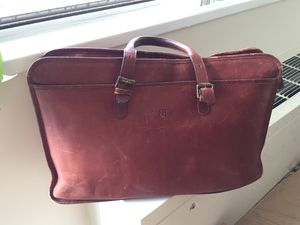 Vintage leather briefcase for Sale in Silver Spring, MD