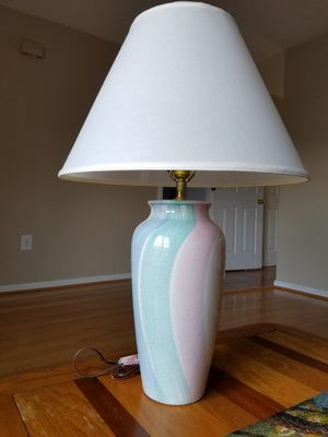 **Like New** Set of 2 table lamps with shade for Sale in Centreville, VA