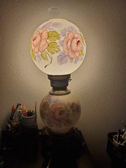 Vintage parlor lamp Thumbnail