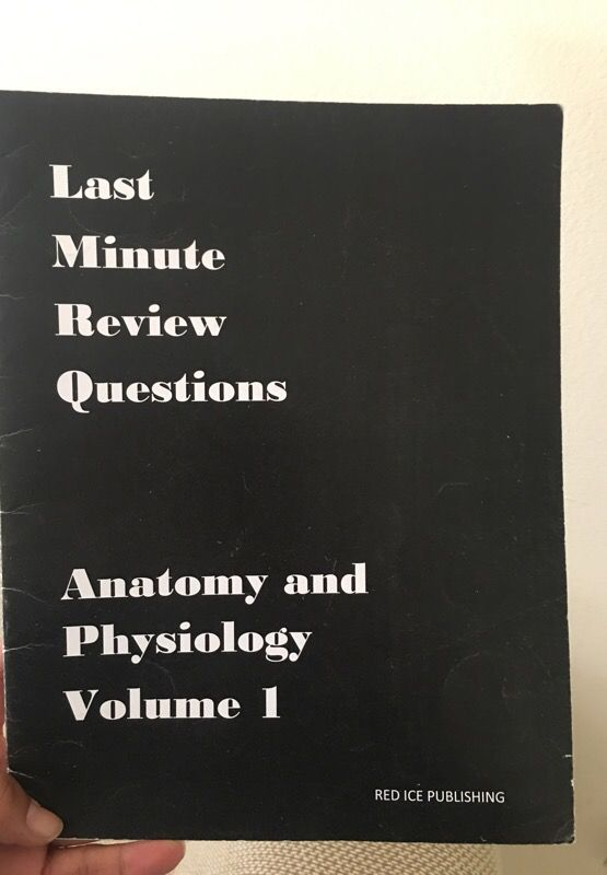 Last minute review questions volume 2 - red ice publishing for Sale in  Miramar, FL - OfferUp