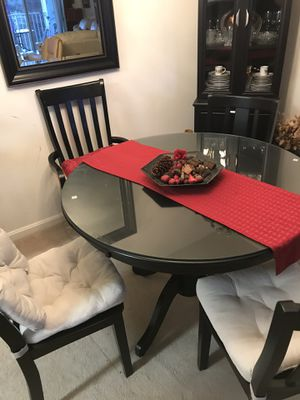 Very pretty dining room set with decoration and more for Sale in Sterling, VA