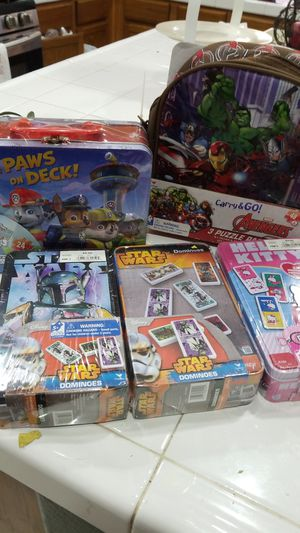 Dominoes & puzzle games for kids for Sale in Moreno Valley, CA