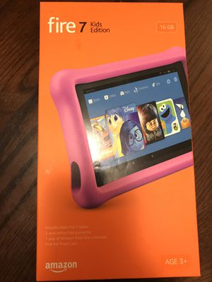 Amazon Fire HD 7 Kids Edition for Sale in Rosenberg, TX